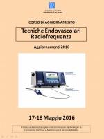 Tecniche Endovascolari Radiofrequenza