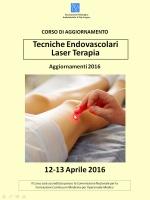 Tecniche Endovascolari Laser Terapia