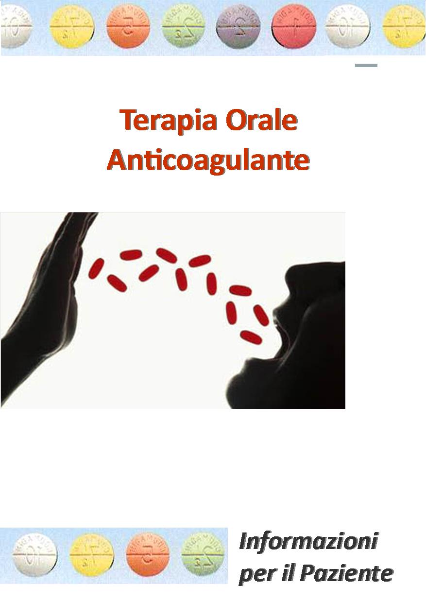 TERAPIA ORALE ANTICOAGULANTE